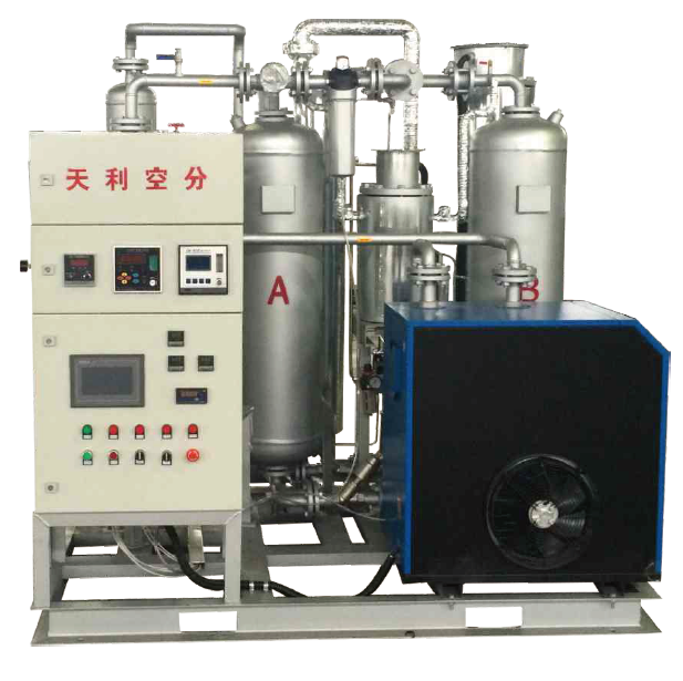 TLH nitrogen hydrogenation purification device