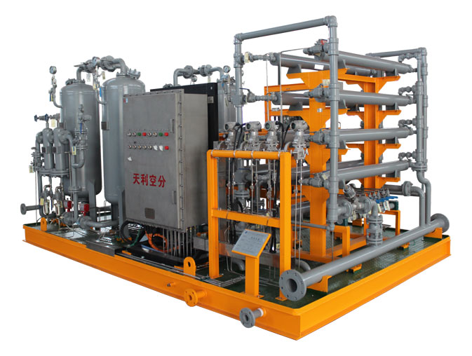 Special nitrogen equipment for offshore oil machine